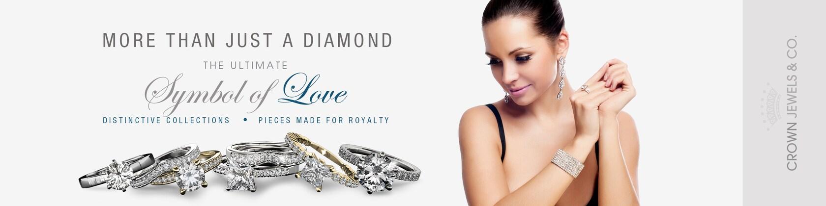 Diamond Engagement Rings and Fine Diamond Jewelry von CrownJewelsCo