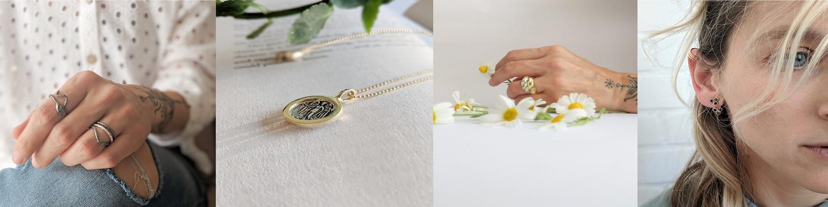 Jewelry Adviser Charms 14K Girl Head Charm