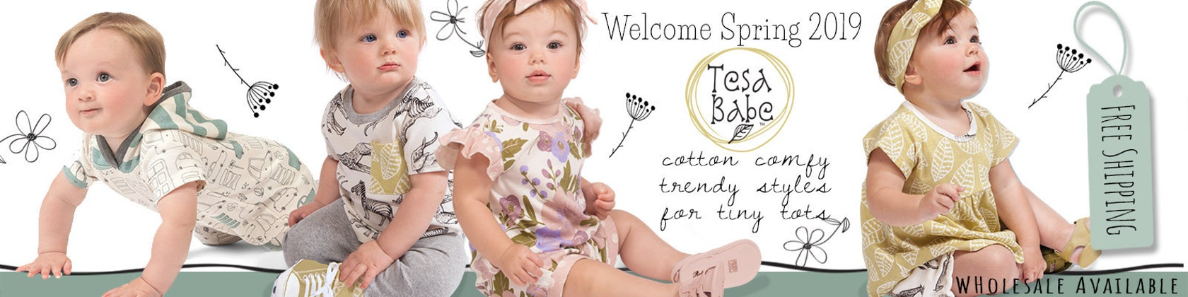 0284737ce832 Baby Clothing Fashion for Baby Girls   Baby Boys by TesaBabe