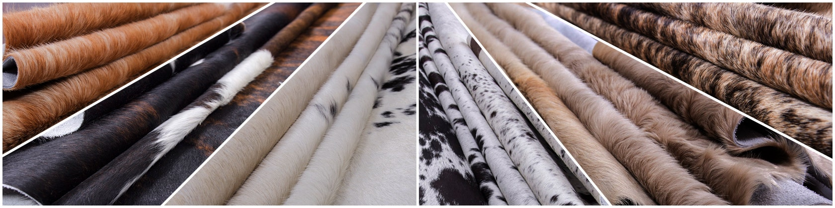 New White Belly Brown and White Rodeo COWHIDE RUG size approx 6X6-6X7ft