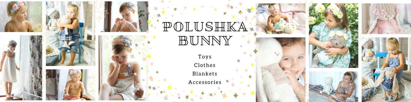 Juguetes y Patrones Ganchillo/Tejido de punto y por PolushkaBunny