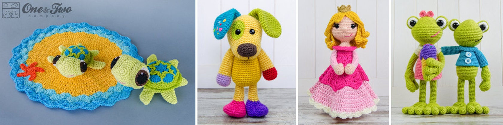 Pdf Crochet Patterns By Oneandtwocompany On Etsy