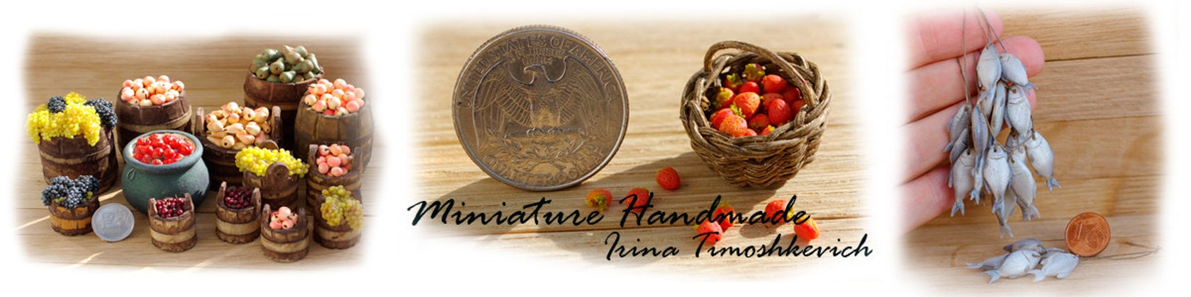 Miniatures for doll houses by Irinaminiatures on Etsy