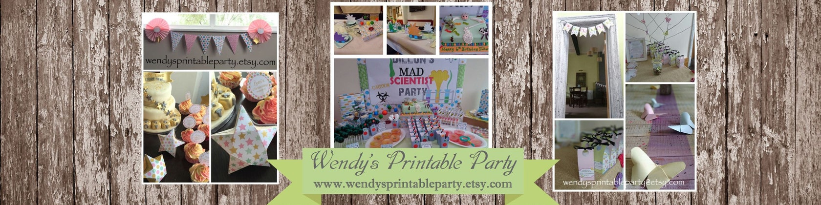 graphic about Wendy's Printable Application titled Printable Desire Packing containers Celebration Packs by means of WendysPrintableParty
