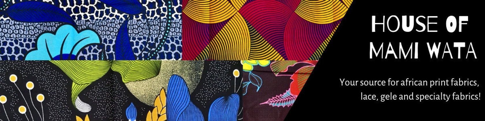 African Fabric By The Yard & Wholesale by HouseOfMamiWata on