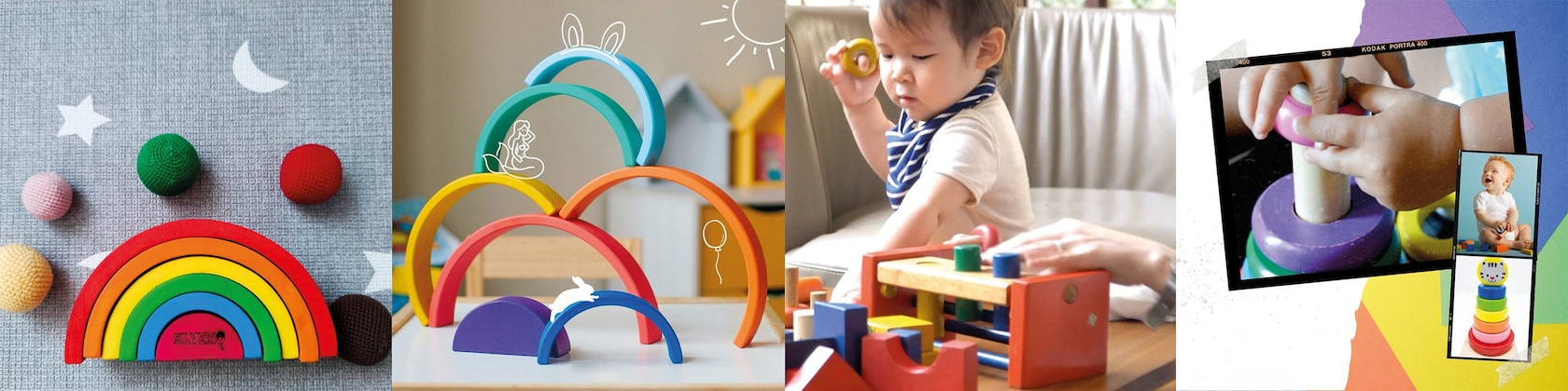 Montessori Toy Learning Toy Colorful Cat Tower Educational Toy Preschool Toddler Kids Colourful Roller Tower for Baby and Toddler