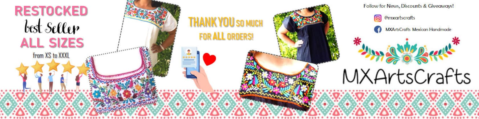 Mexican Handmade With Love Retail And Wholesale By Mxartscrafts