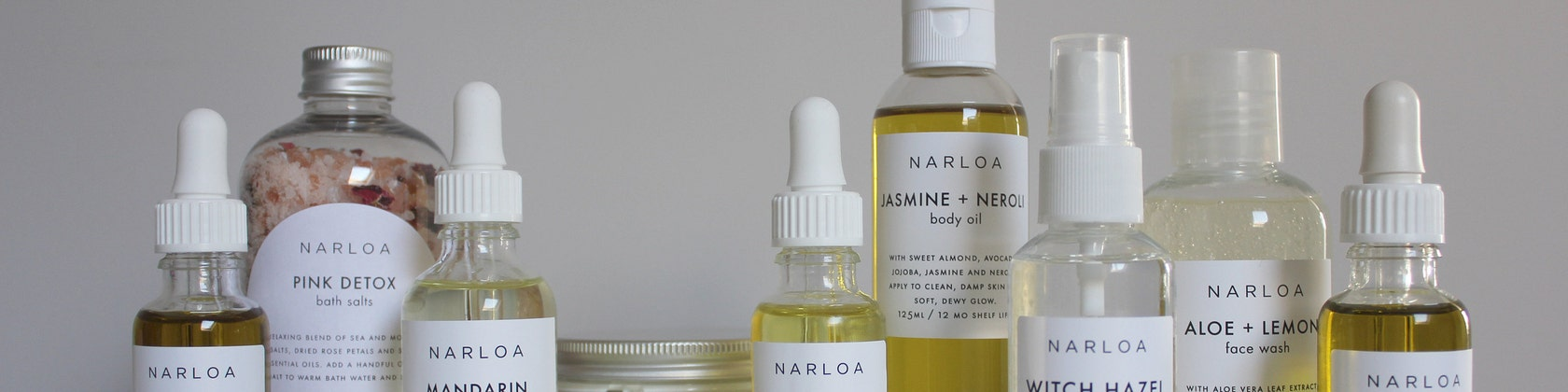 Plant-based skincare by NARLOA on Etsy