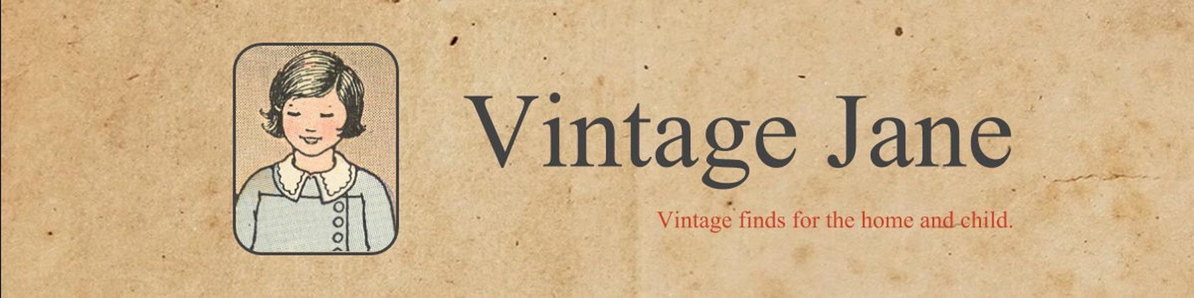 Vintage Jane Vintage Finds For The Home And Child By Vintagejane