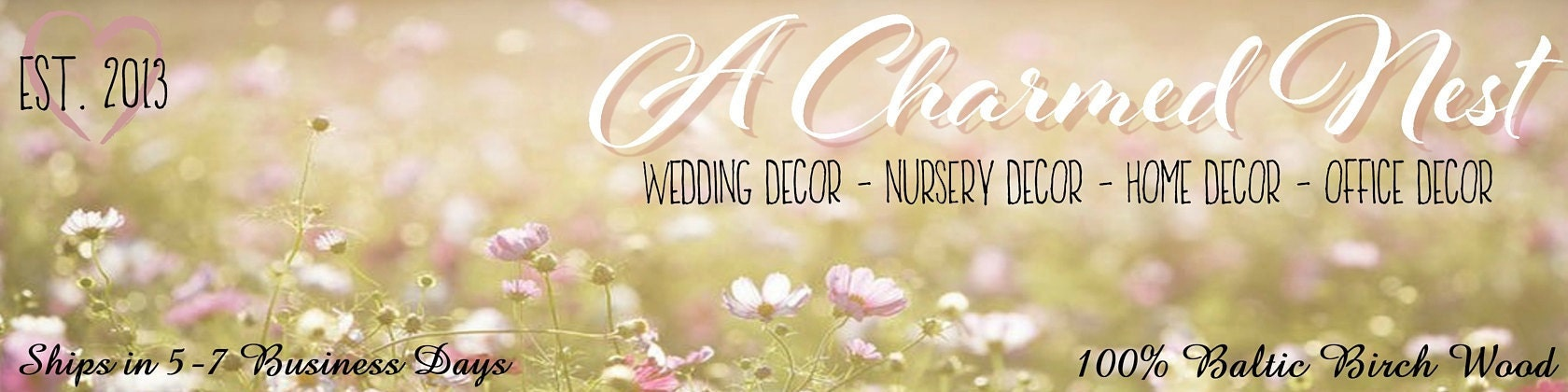 Custom Monograms Name Signs Alphabets More by ACharmedNest