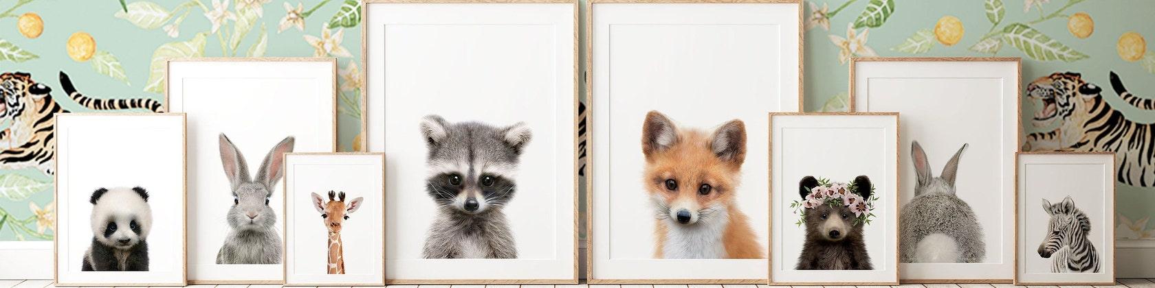 Childrens Fox Demi Visage Masque Animal Garçons Filles Semaine Du Livre Jour robe fantaisie