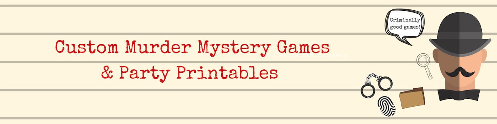 photograph relating to Printable Mystery Games called Murder Solution Tailor made Online games Occasion as a result of BespokeMurderMystery
