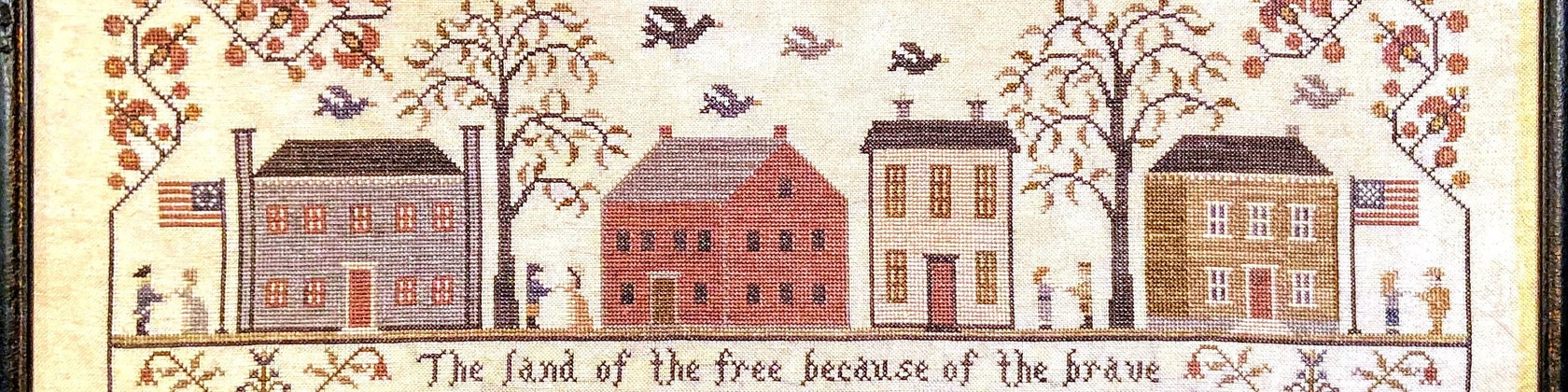 My Family Tree Willow Hill Samplings Cross Stitch Pattern
