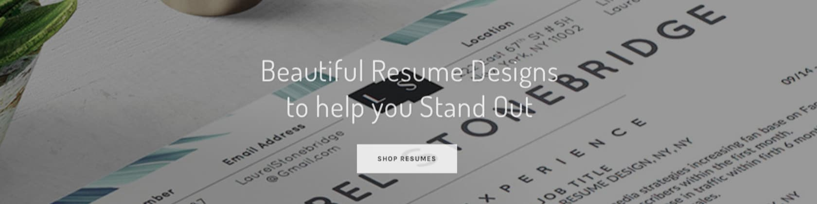 Beautifully Designed Microsoft Word Resume By Yourstandoutshop