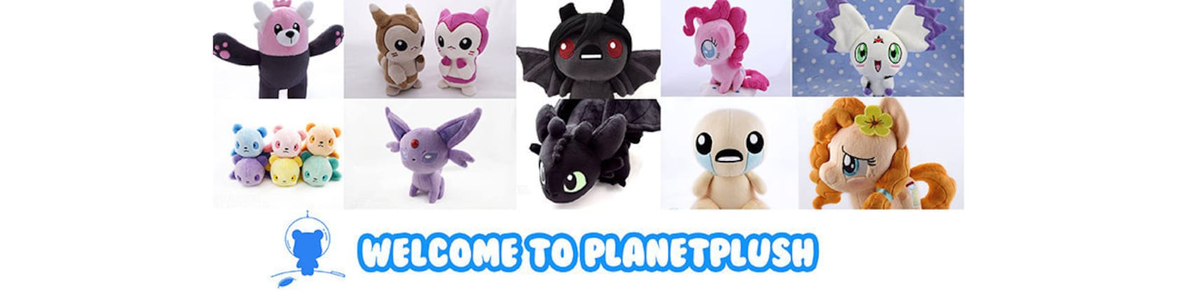 Professionally made handcrafted plush and patterns von PlanetPlush