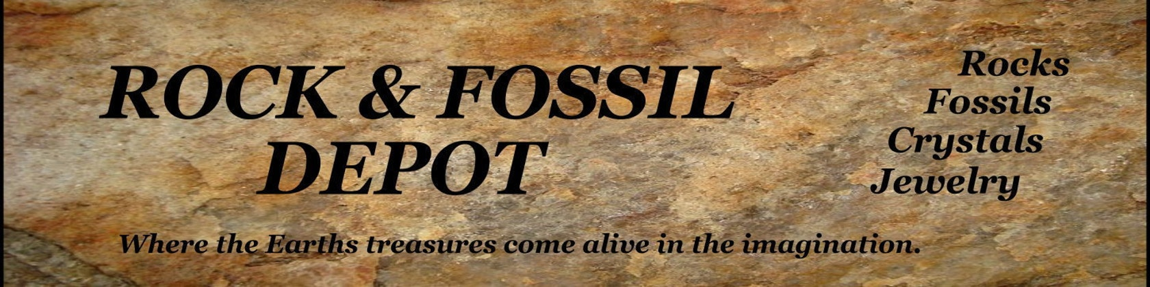 Fossils Minerals Crystals Jewelry by RockFossilDepot on Etsy