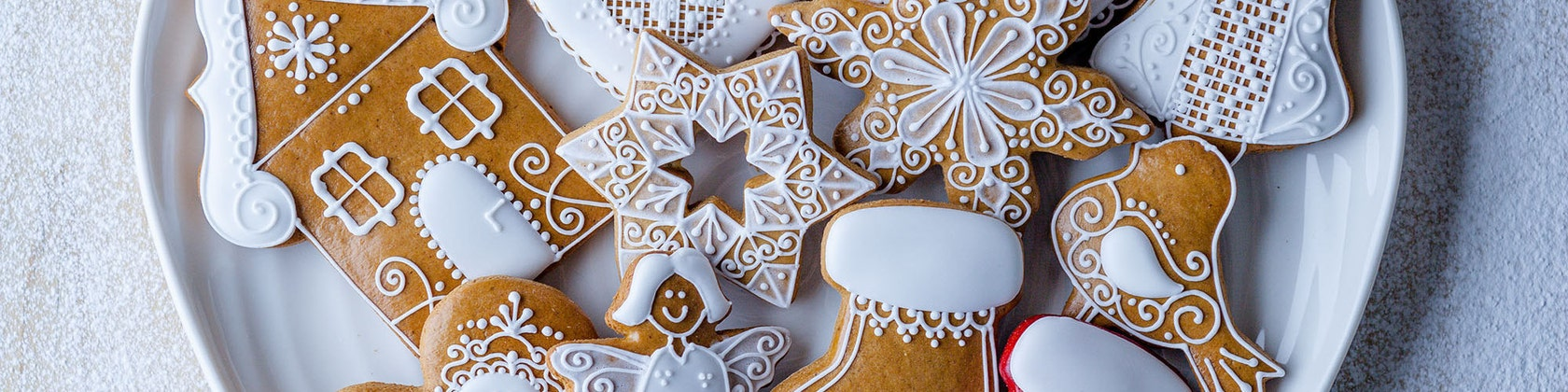 621d70c6b7a7 Artisan Iced Biscuits by SilviasGingerbread on Etsy