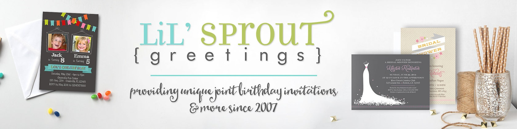 Printable joint birthday and shower by lilsproutgreetings on etsy lilsproutgreetings m4hsunfo