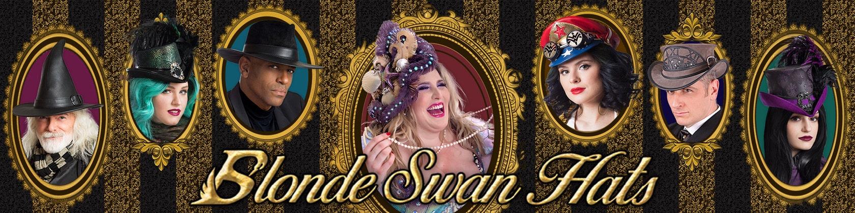 Sur The Par Swan Etsy Blonde Hat Boutique Blondeswanhats XZwiOPuTkl
