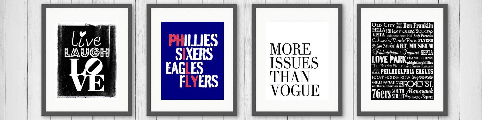 Custom Prints & Invitations von RittenhouseDesign auf Etsy