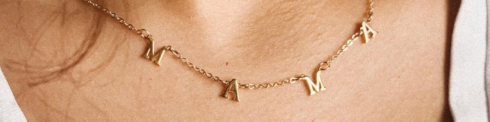 "Personalized Necklace /& Bracelet Set for 18/"" Dolls Handmade American Girl Names"