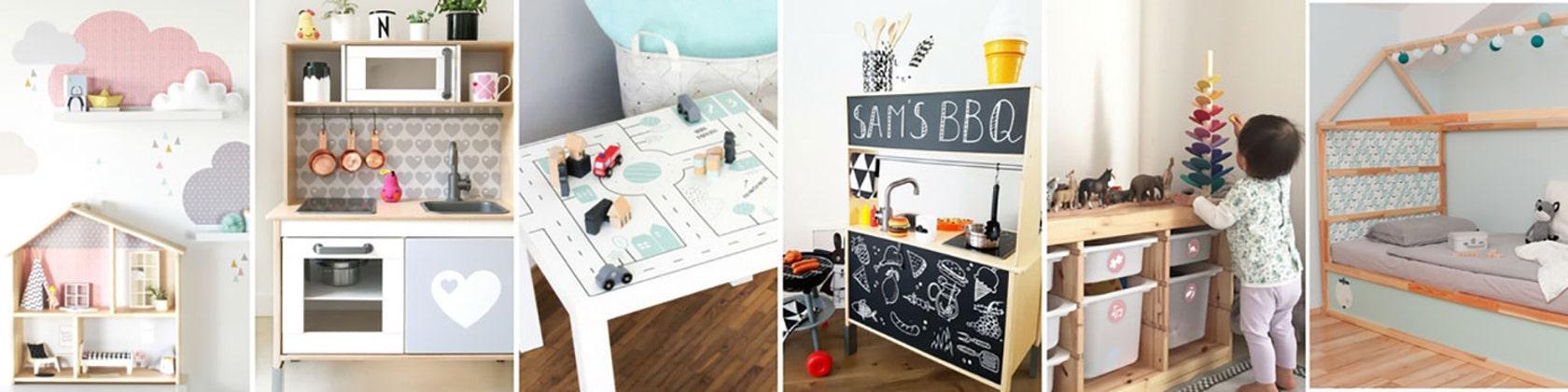 Ikea Wall Decor And Furniture Stickers De Limmaland En Etsy