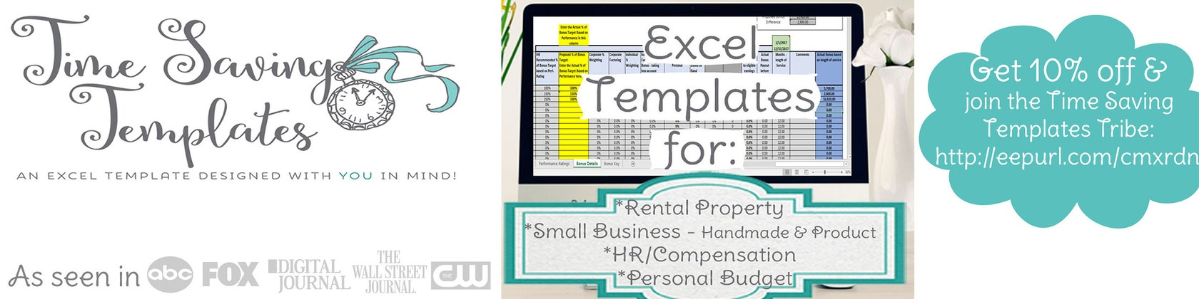 Streamline with Spreadsheets von TimeSavingTemplates auf Etsy