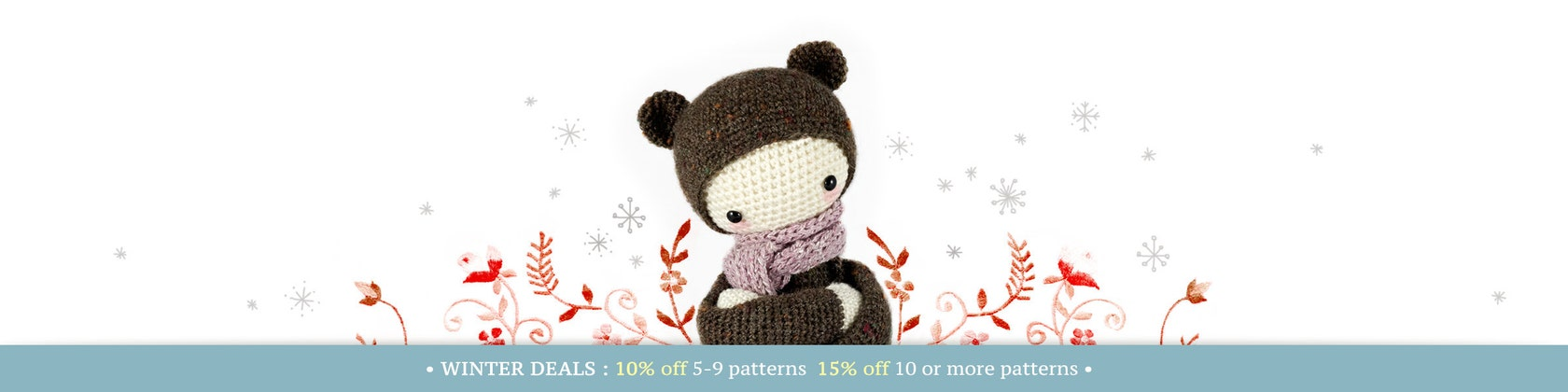 Amigurumi Crochet Patterns Van Lalylala Op Etsy
