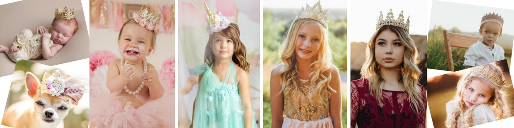 lovecrushcrowns LACE crowns tiaras for DREAMERS of