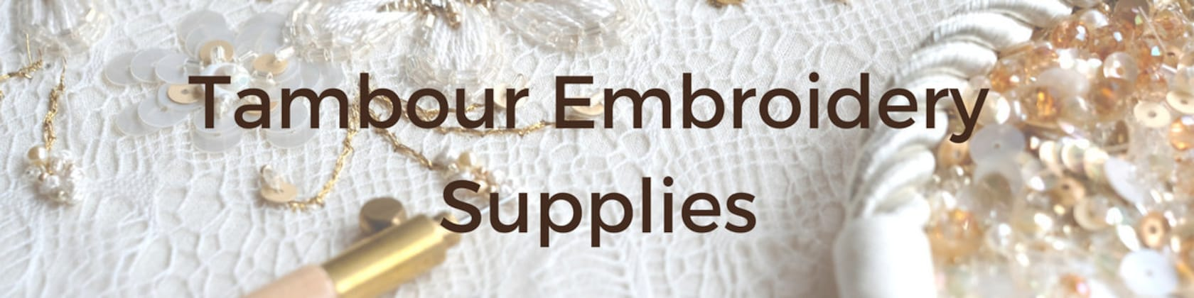 Haute Couture: Embroidery and Sewing Supplies por SaskiaTerWelle