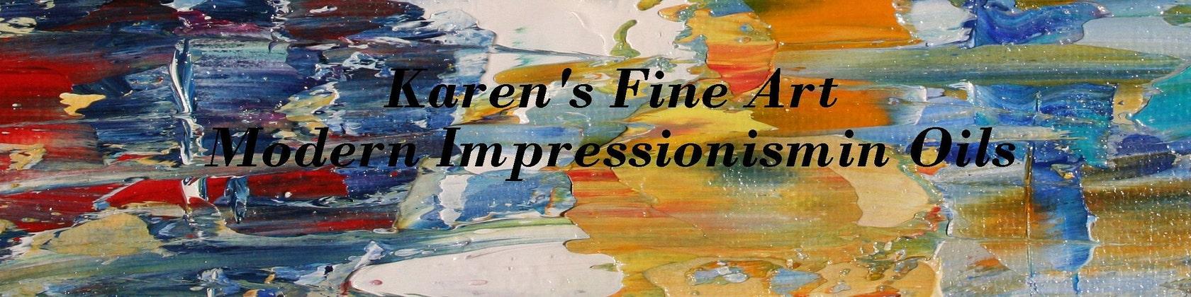 Karen Tarlton Fine Art Original Oil Paintings By By