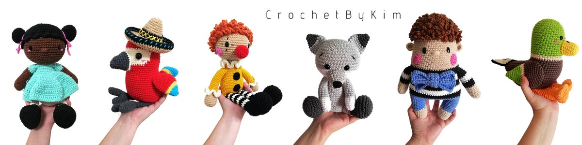 AMIGURUMI CROCHET PATTERN • wolf and fox • forest animal ... | 300x1200