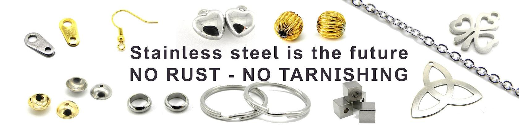 Jewelry Connectors BLACK  Dark Grey Eyepins 150 pc 2 inch Eye Pin