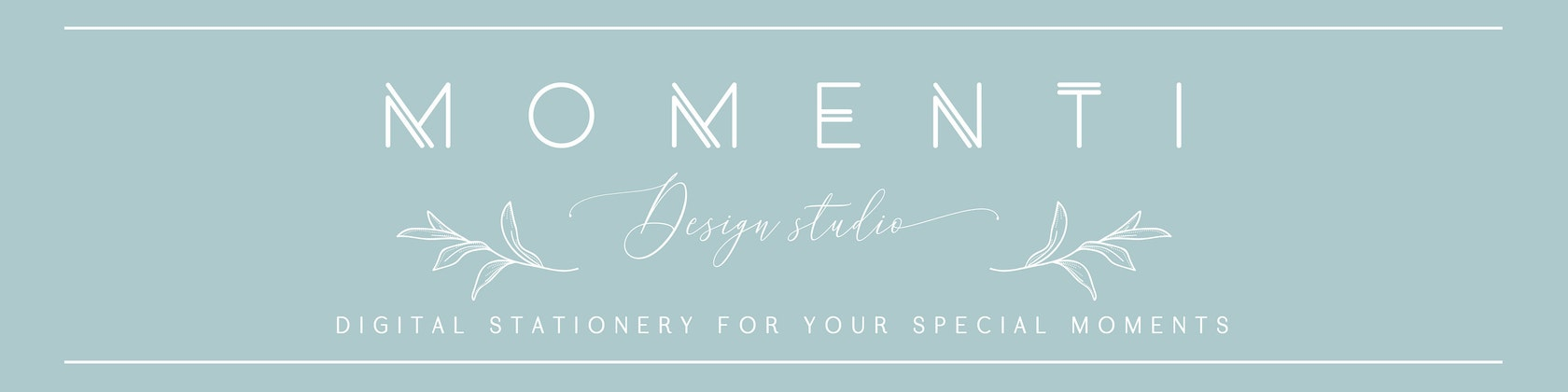 Digital stationery for your special moments by MomentiDesignStudio