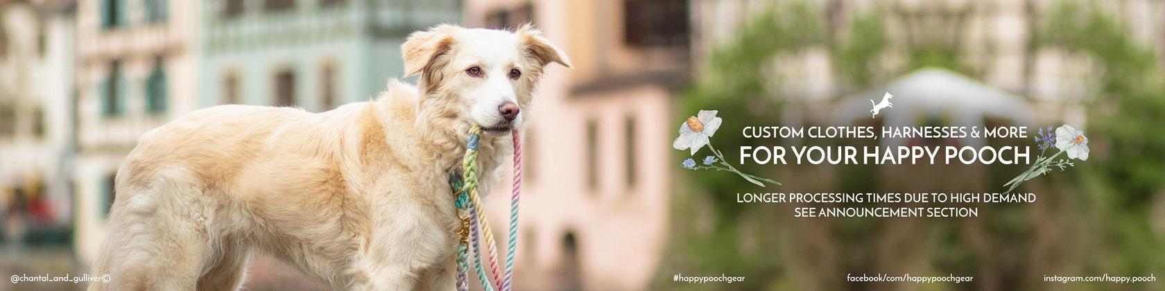 8c266c31f Custom Dog Gear Handmade with Love by HappyPooch on Etsy