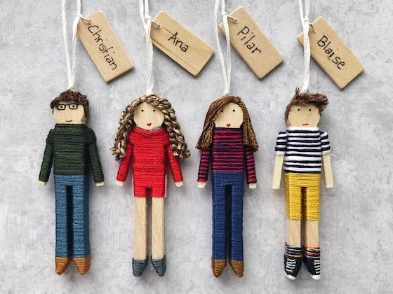 2 X Baby Dolls Spielzeug Mini Puppe Handy-Zubehör nH