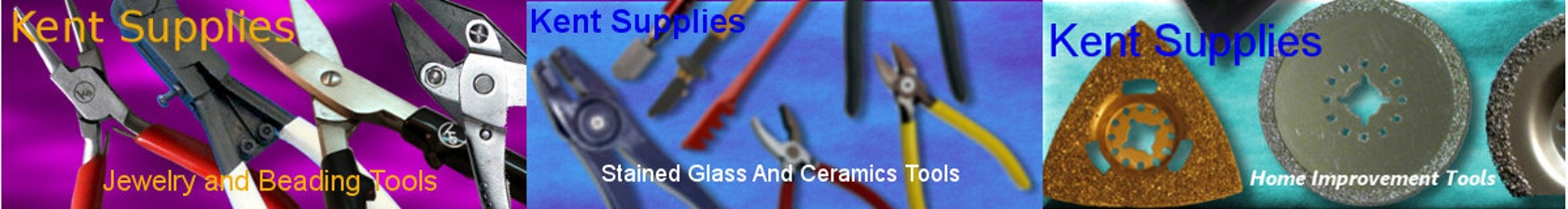Great Starter Set for Stained Glass Art 4 Pliers and 3 Cutters KENT 7 pcs Set