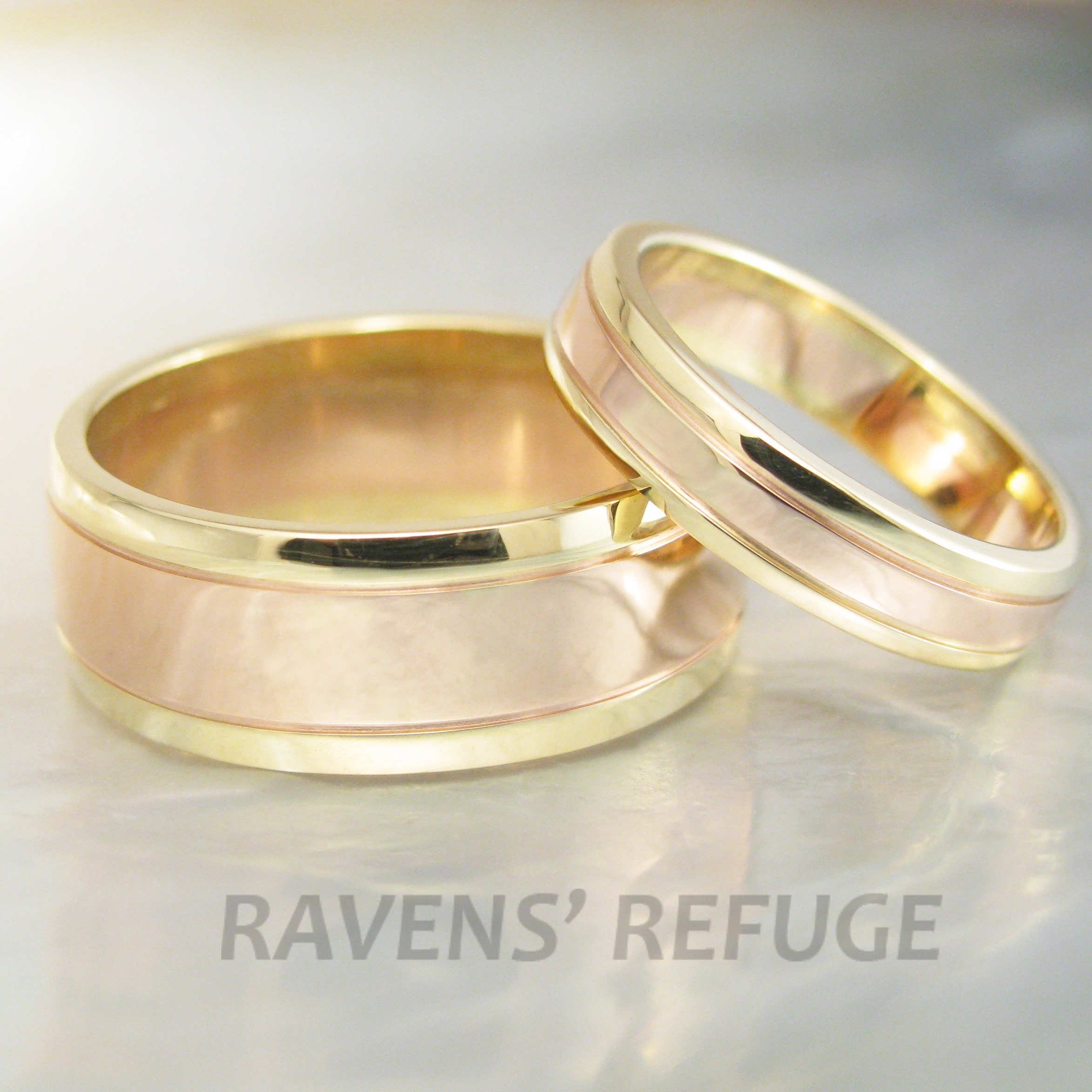 Handmade Wedding Bands Custom Engagement Rings By Ravensrefuge