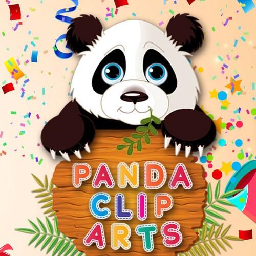 PandaCliparts on Etsy