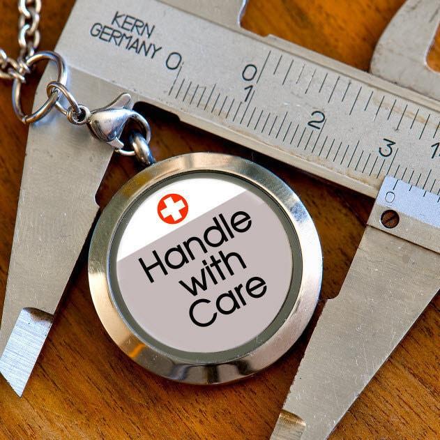 Metal Pin Button Please be Understanding Medical Alert  Tag I Have Tourette/'s Medic Alert