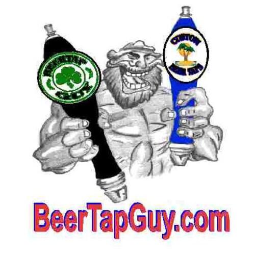 Sox Baseball Emblem /& Beer Tap Handle for Kegerator Faucet KIT
