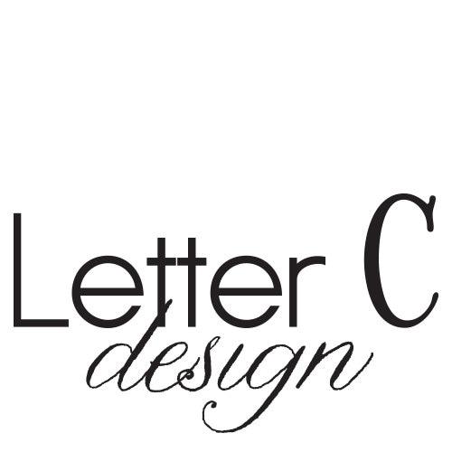 Letter C Design By Lettercdesign On Etsy
