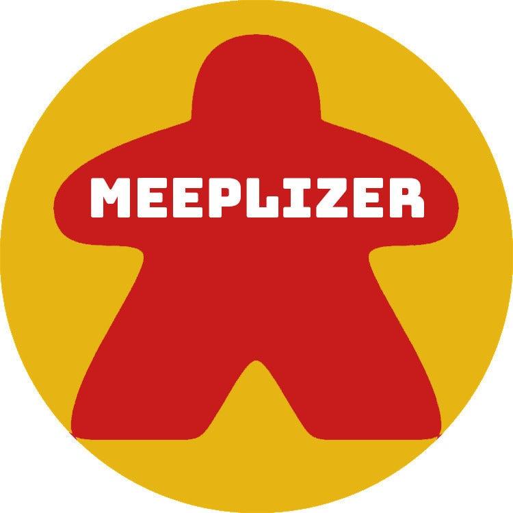 Joker Movie Board Game Meeple Parody Poster