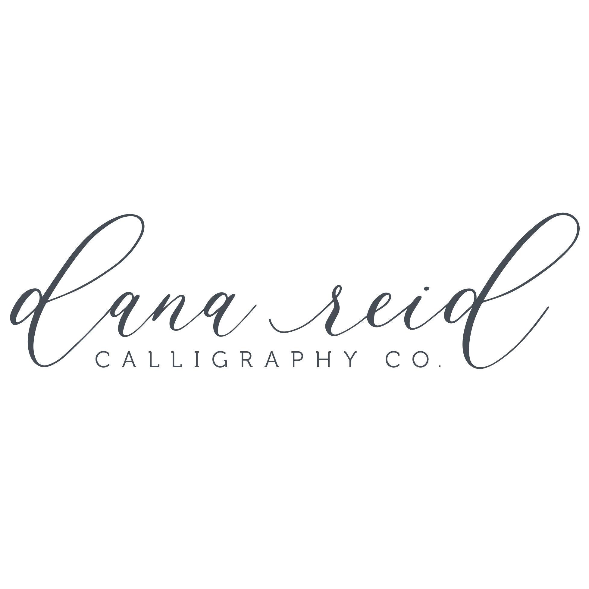 DanaReidCalligraphy