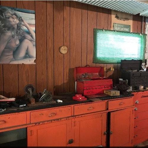Veste Letterman rouge 40 Baseball veste laine Varsity veste années 80 Bomber manteau cuir Coach Sports Snap années 1980 Vintage moyen grand