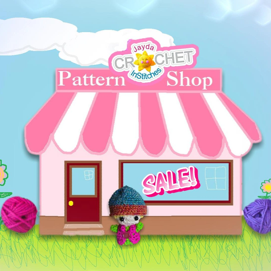Delightfully Fun and Easy Crochet Patterns by JaydaInStitches