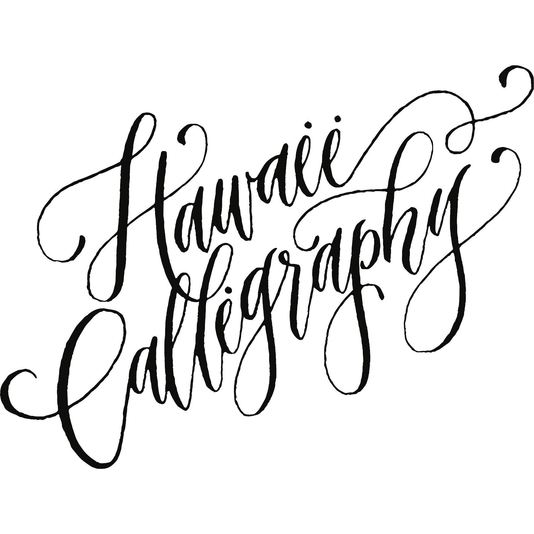 A contemporary calligraphy studio in honolulu by hawaiicalligraphy izmirmasajfo