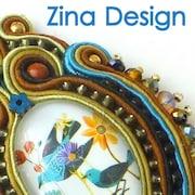 Wearable Art of Soutache Jewelry by ZinaDesignJewelry on Etsy