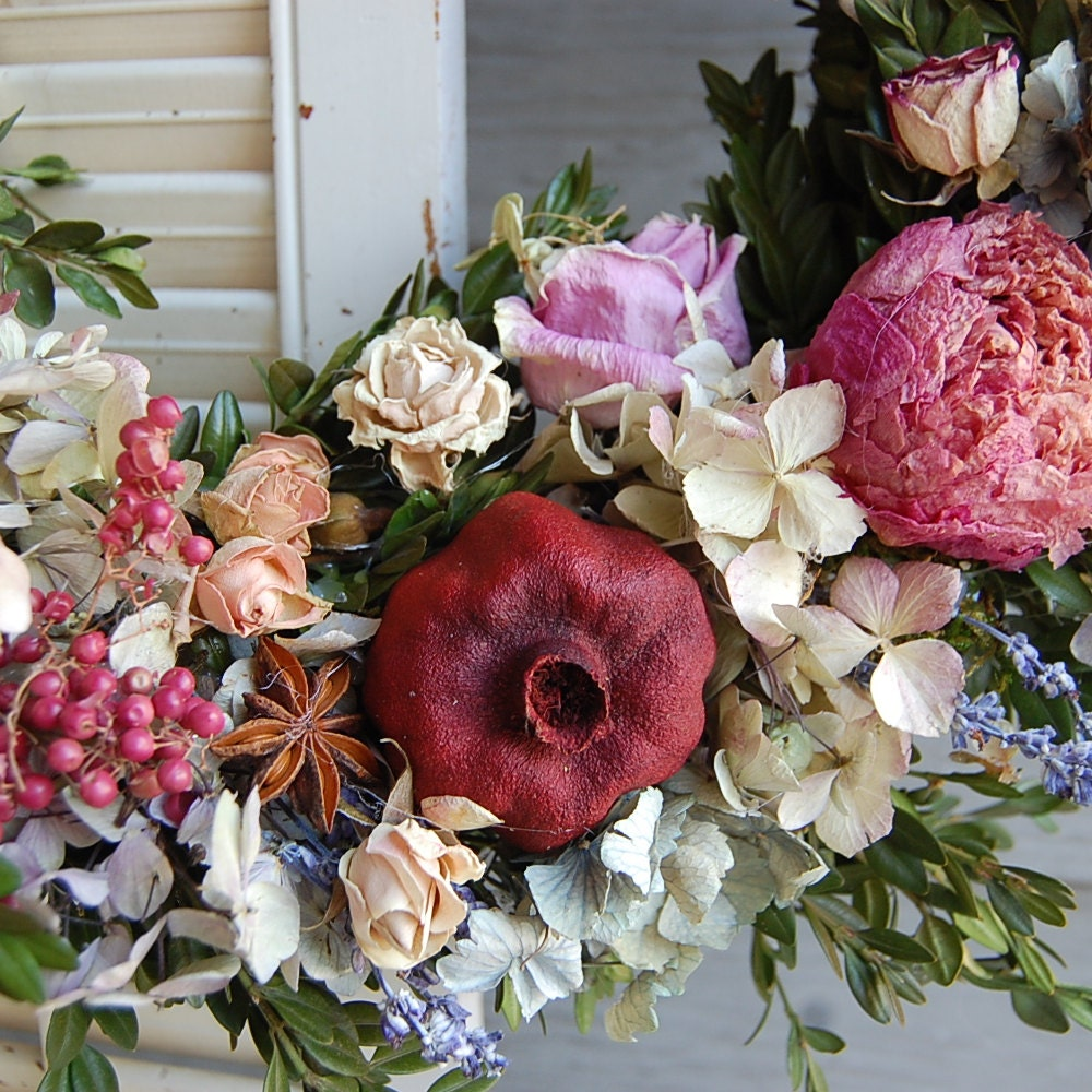 Bridal Bouquet / Dried Lavender Bouquet / Dried Flower Bouquet | Etsy