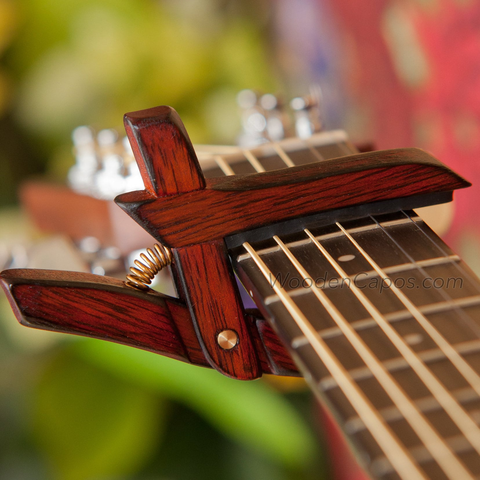 Wooden Guitar Accessories Handmade By Woodencapos On Etsy
